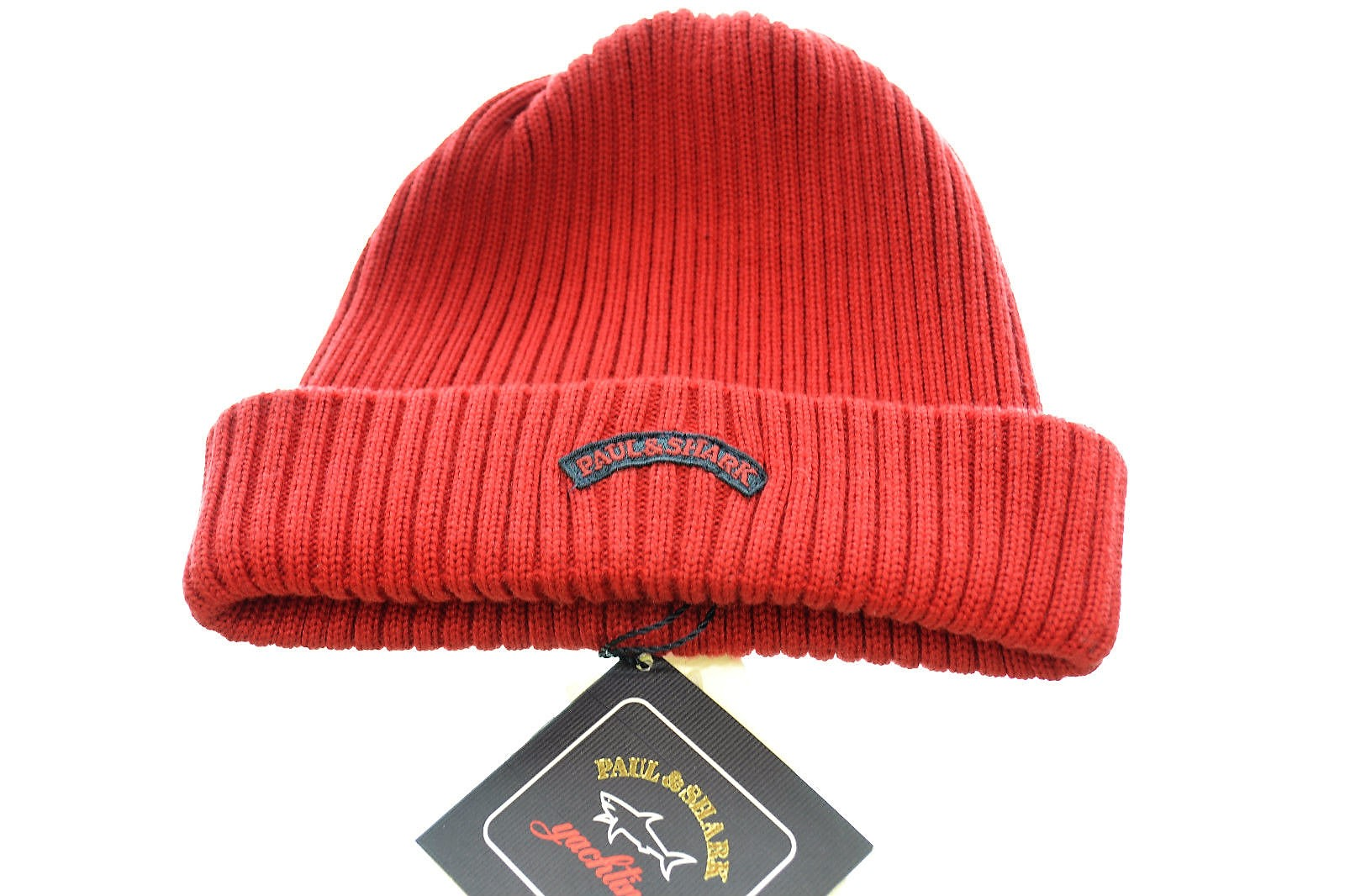 PAUL  SHARK YACHTING cappello lana COP983 rosso