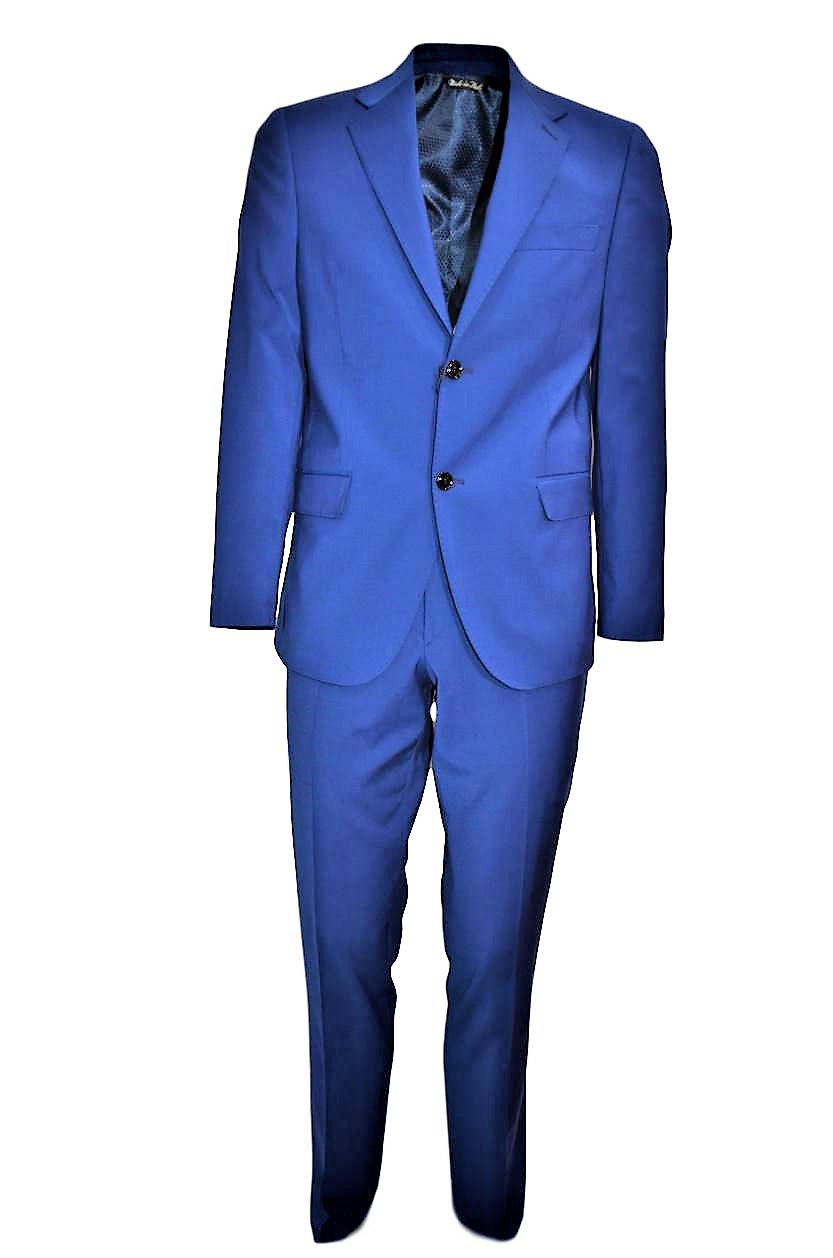 ALESSANDRO GILLES ABITO UOMO MADE IN ITALY ART. DP4C 0162 BLU ROYAL DROP 4C