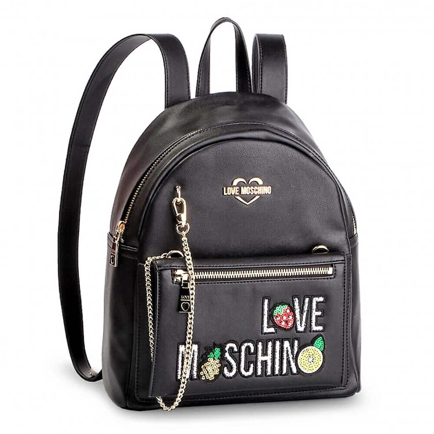 LOVE MOSCHINO BORSA ZAINETTO PU NERO JC4276PP07KL0000