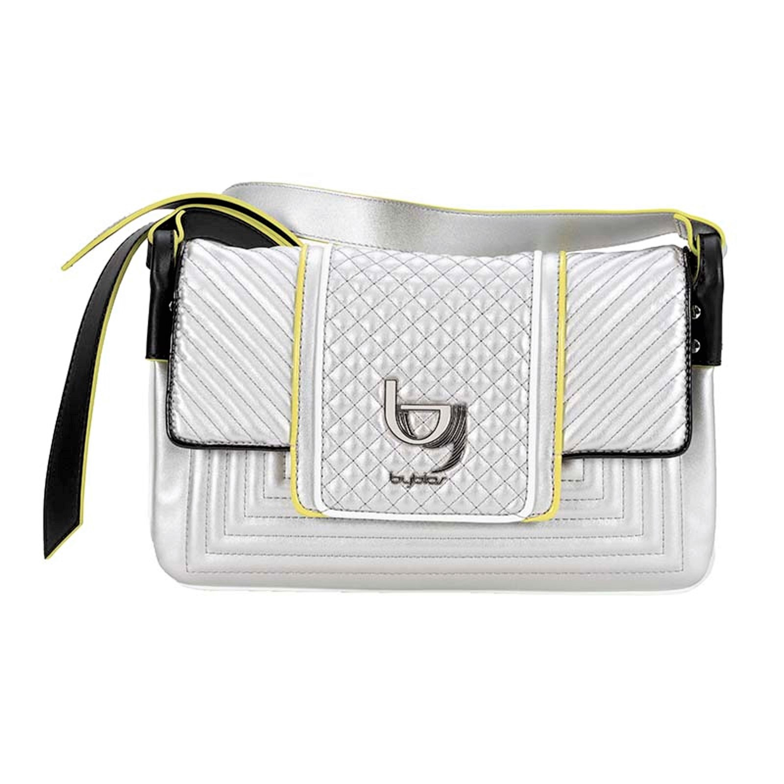 BYBLOS BORSA POCHETTE DONNA 2WB0055 QUINCY SHOULDER BAG SMALL TRACOLLINA WHITE